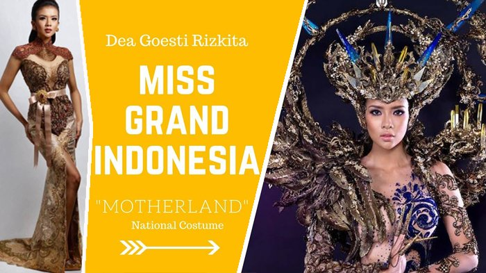 Menang Best Costume, Dea Rizkita juga Masuk 10 Besar Miss Grand International 2017