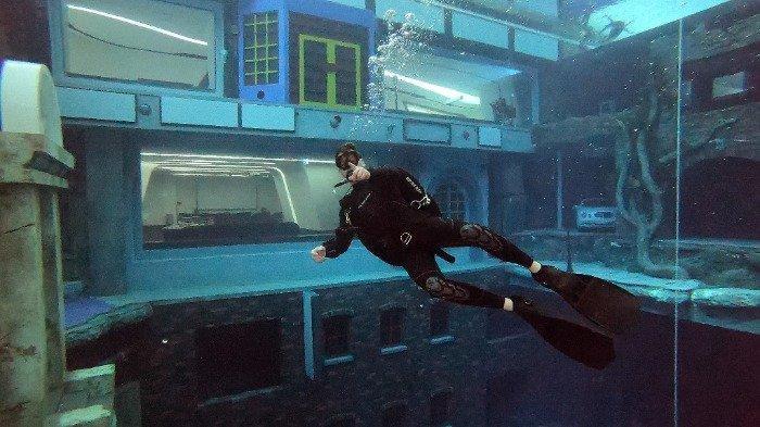 Fakta Unik Deep Dive Dubai, Kolam Selam Terdalam di Dunia yang Punya Kota Bawah Laut