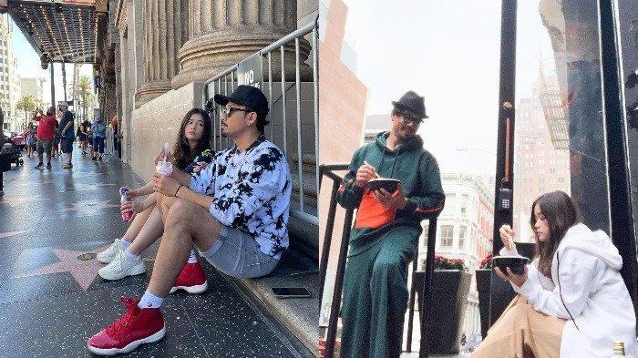 Denny Sumargo Ajak Istri Ngemper di Pinggir Jalan saat Liburan, Olivia: Salah Apa Aku Sih?