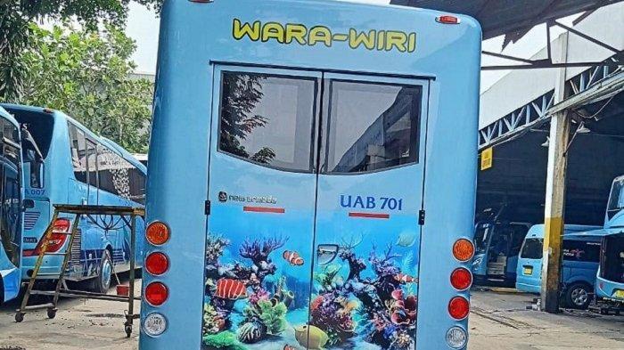 Desain baru Bus Ancol Wara-Wiri