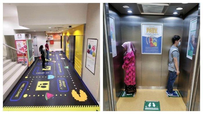 Kreatif! Mall Ini Punya Cara Unik Agar Pengunjung Tetap Patuhi Aturan Physical Distancing