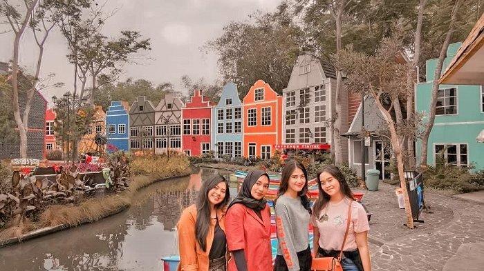Foto-foto Devoyage Bogor, Kampung Eropa yang Indah dan Instagramable