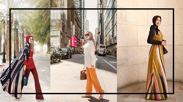 Fashion Hijab Casual Untuk Traveling Ala Hijab Selebgram Simple Dan Praktis Banget Diaplikasikan Tribun Travel