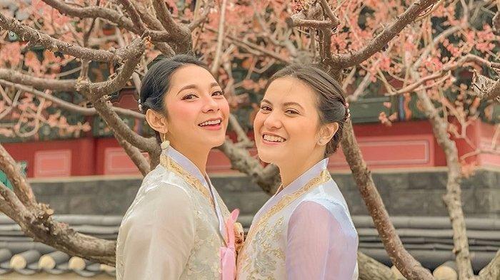 Dinda Kirana dan Marsha Aruan Traveling ke Korea Selatan