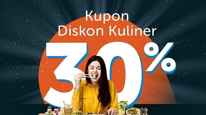 Promo Traveloka - Mulai Hari Ini Ada Diskon 30% Kulineran di 5 Merchant, Cek Kode Promo Berikut