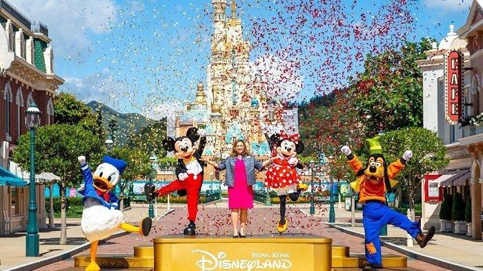Ada Lonjakan Kasus Covid-19, Disneyland Hong Kong Tutup Lagi