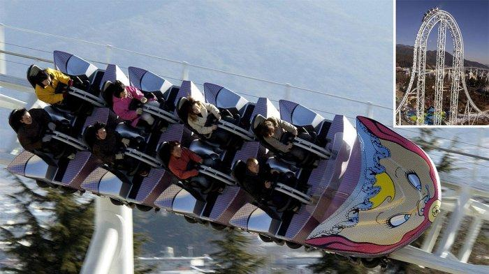 Sebabkan Sejumlah Wisatawan Patah Tulang, Roller Coaster Tercepat di Dunia Ditutup