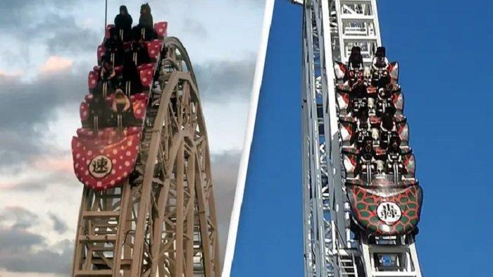 Rollercoaster Tercepat di Dunia Ditutup Gara-gara Banyak Penumpang Mengeluh Alami Patah Tulang