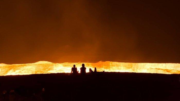 Cerita di Balik Keberadaan 'Gerbang Neraka' Turkmenistan, Kawah Api Raksasa yang Tidak Pernah Padam