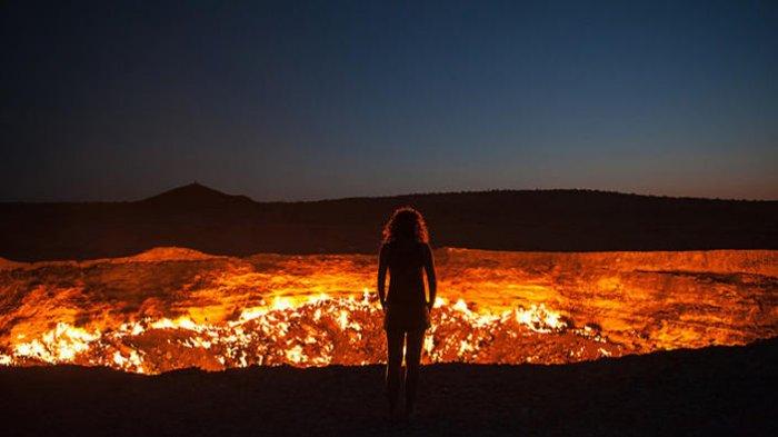 5 Fakta Unik Turkmenistan, Negara Paling Sulit Dikunjungi yang Punya Kawah Api Abadi