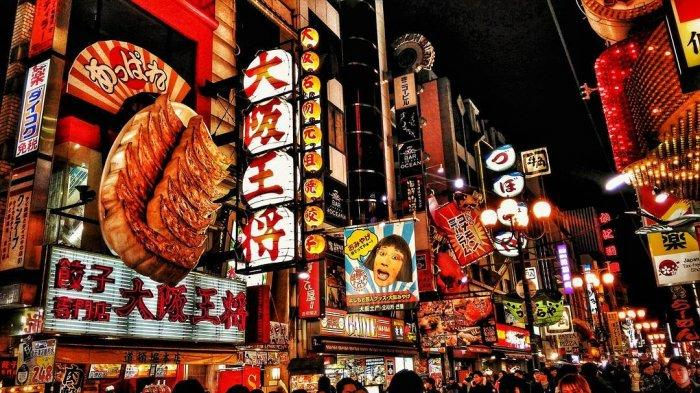 12 Objek Wisata Populer di Osaka Jepang, Dotonbori Punya Spot Instagramable