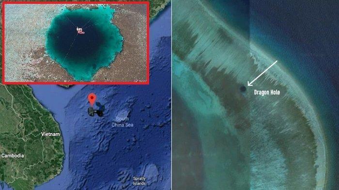 Dragon Hole, Lubang Biru Terdalam di Dunia yang Ditemukan di Laut China Selatan