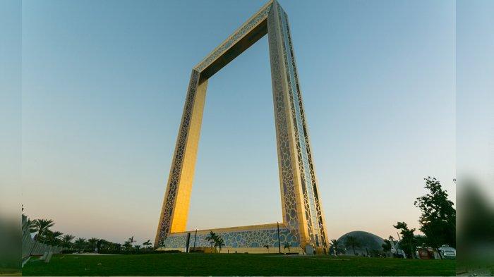 Nikmati Sensasi Sarapan di Dubai Frame, Bangunan Kaca Setinggi 150 Meter