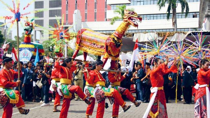Mengenal Tradisi Dugderan di Semarang, Ritual Jelang Ramadan dengan Maskot 'Warak Ngendok'