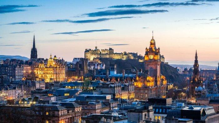 Edinburgh, Skotlandia.