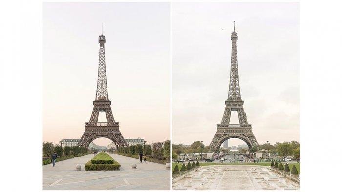 Kawasan di China Dibuat Mirip dengan Paris, Ada Replika Menara Eiffel dan Versailles