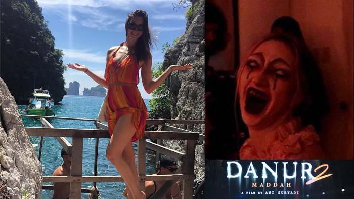 Siapa Sangka Sosok Hantu di Film Danur 2 Cantiknya Kebangetan, Lihat Gaya Liburan Elena Victoria