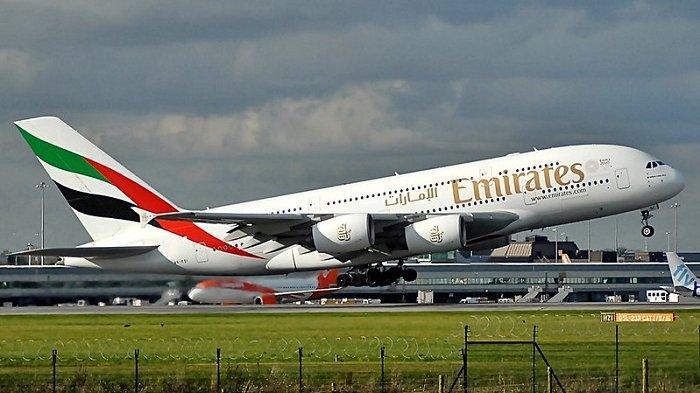 Ilustrasi maskapai Emirates