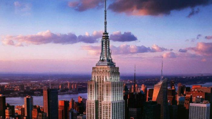 Empire State Building, satu landmark terkenal di Kota New York, Amerika Serikat