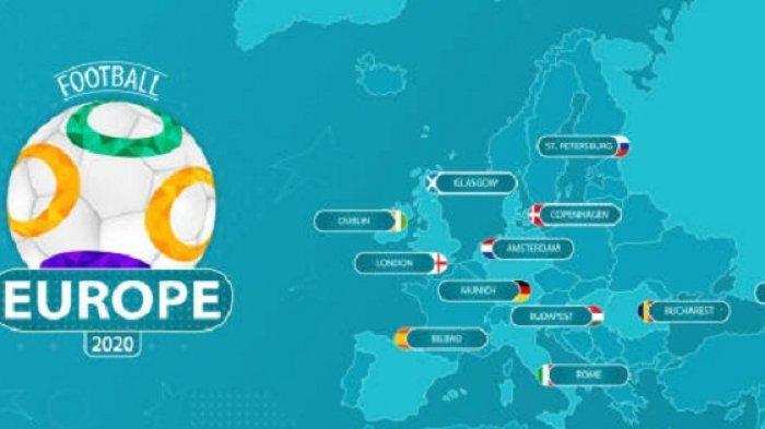 Daftar Kota dan Stadion Tuan Rumah Kejuaraan Euro 2020