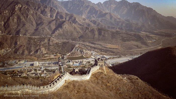 Tembok Besar China di Tiongkok