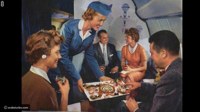 Deretan Foto Ungkap Betapa Mewahnya Fasilitas First Class di Pesawat Tahun 1950-an, Ga Nyangka!