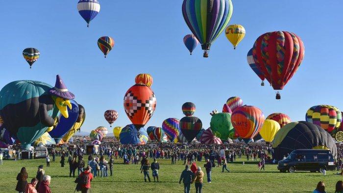 Mirip Kapadokia di Turki, Ribuan Balon Akan Diterbangkan di Langit Albuquerque Setiap Oktober