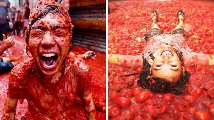 8Festival Paling Gila di Dunia Wajib Dikunjungi Sekali Seumur Hidup, Ada Perang Tomat hingga Roket