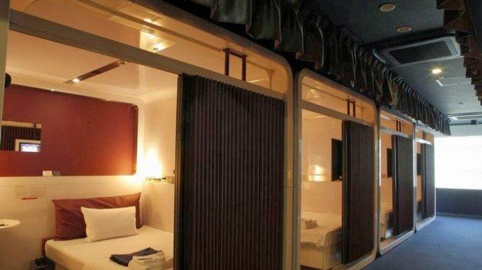 Mencoba Hotel Kapsul Bergaya Kabin First Class di Jepang
