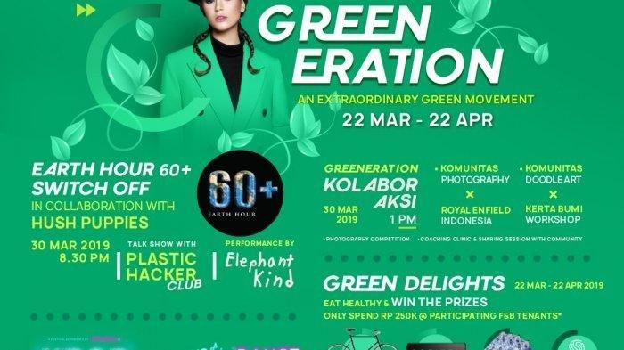 Sambut Earth Hour dan Hari Bumi, Ini Sederet Acara di Mal Jakarta Barat
