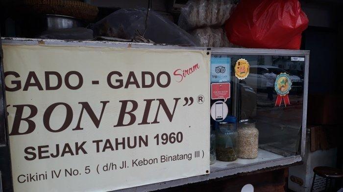 Gado gado Bon Bin sejak tahun 1960