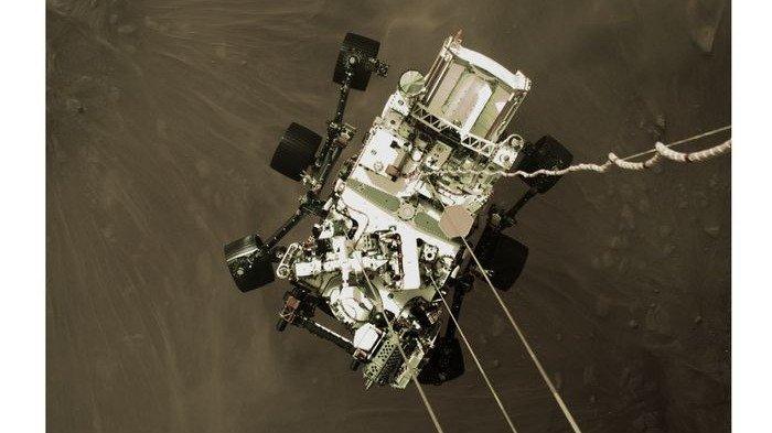 Begini Foto Robot Penjelajah Perseverance Milik NASA yang Berhasil Mendarat di Planet Mars