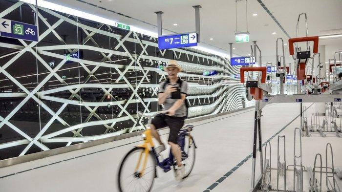 Bisa Tampung 8 Ribu Sepeda, Ini Keunikan Garasi Sepeda yang Ada di Den Haag Belanda