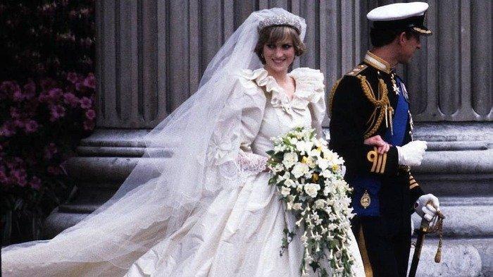 Gaun Pengantin Putri Diana Bakal Dipamerkan di Istana Kensington, Seperti Apa?