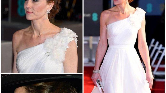 Gaun Kate Middleton rancangan Alexander McQueen