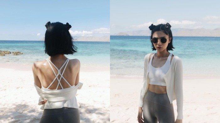 Isyana Pamer Gaya Baru saat Liburan ke Pantai, Penampilannya Dipuji Mirip Lisa BLACKPINK