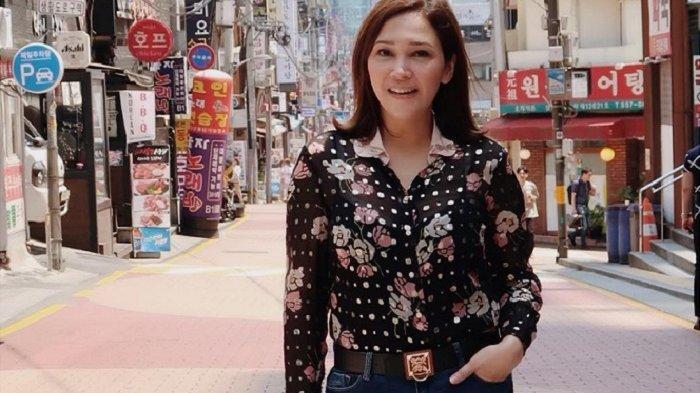 Penampilan Maia Estianty saat Liburan ke Korea Selatan Curi Perhatian Warganet