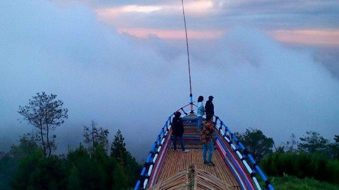 Gedong Pass, tempat wisata di Semarang.