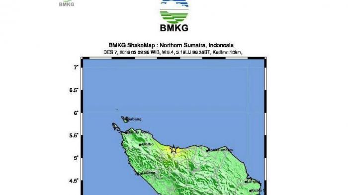 Gempa Aceh - Akibat Gempa 6,4 SR, Kabupaten Pidie Jaya Alami Kerusakan Parah