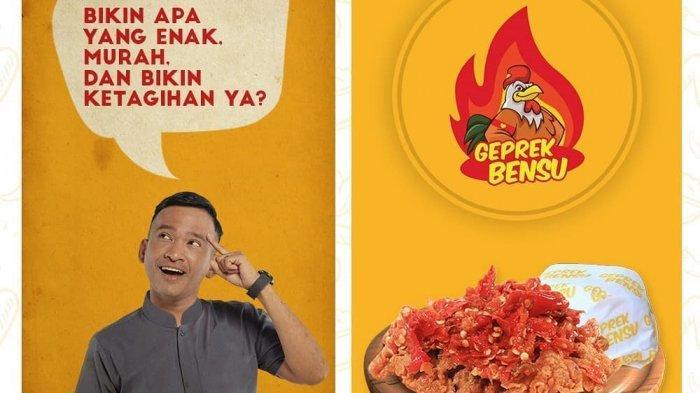 Promo Geprek Bensu - Makan Berdua Bayar Satu, Cocok Dinikmati bersama Pasangan saat Valentine