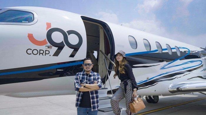 Disebut Crazy Rich Malang, Inikah Pemilik Jet Pribadi yang Kerap Disewa Para Artis?