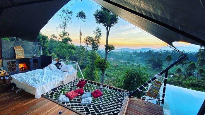 Rekomendasi 5 Glamping Bernuansa Alam di Bandung untuk Staycation pada Liburan Akhir Tahun 2020