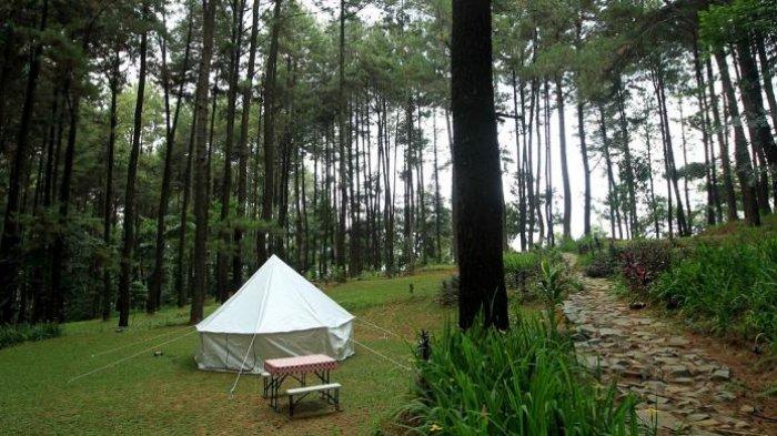 10 Tempat Wisata Instagramable di Bogor Buat Liburan Akhir Pekan, Camping di Gunung Pancar