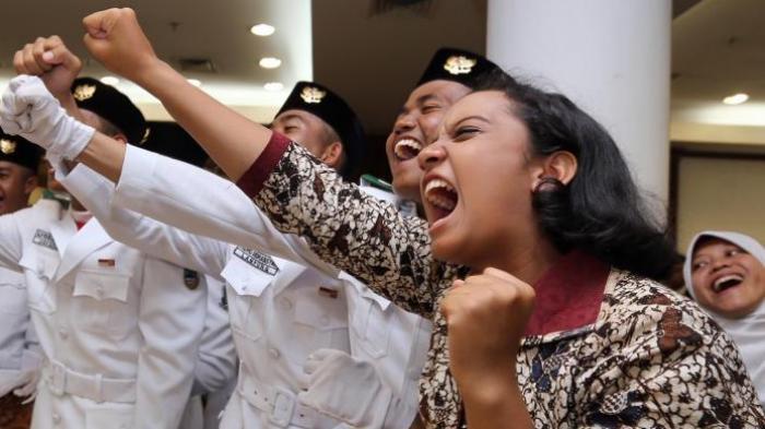 Petugas Pembawa Baki Paskibraka 2018 Bakal Jadi Sorotan, Bagaimana Sistem Pemilihannya?