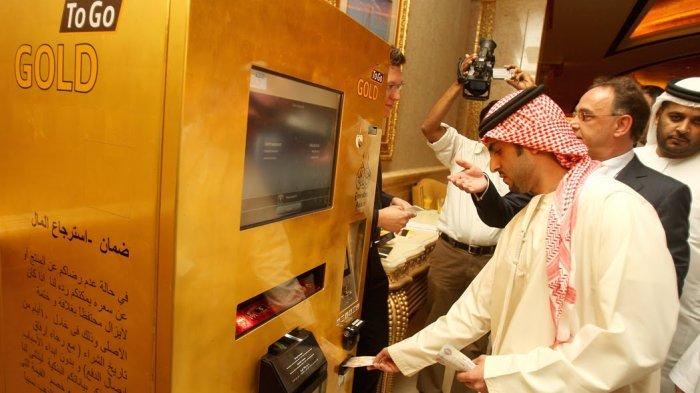 Mustahil Ada, Nyatanya 4 Mesin Penjual Otomatis Hadir di Dubai! Dari Keluarkan Emas hingga Laptop