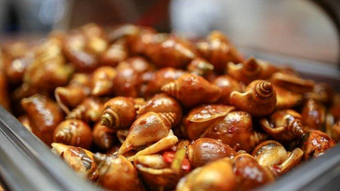 Mencicipi Lezatnya Gonggong, Kuliner Populer di Batam yang Berupa Siput Laut