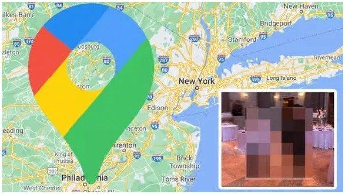 Viral di Medsos, Tertangkap Google Maps Street View, Seorang Pria Berpose Aneh di Acara Formal