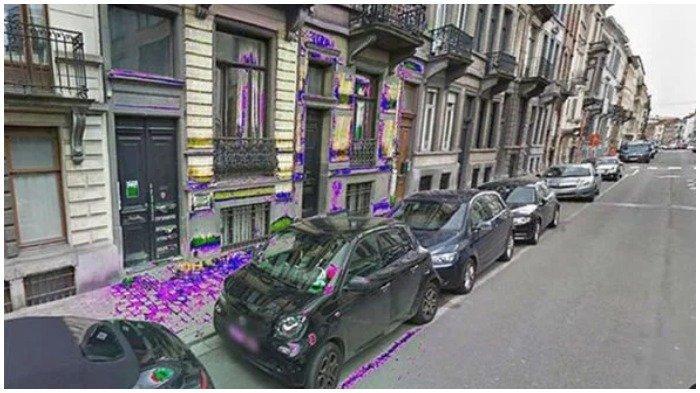 Tertangkap Google Maps Street View, Cairan zat di perkotaan