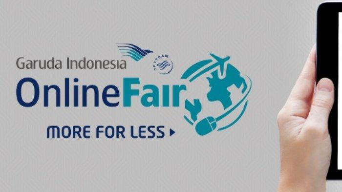Promo Garuda Indonesia Online Travel Fair Festival 2019