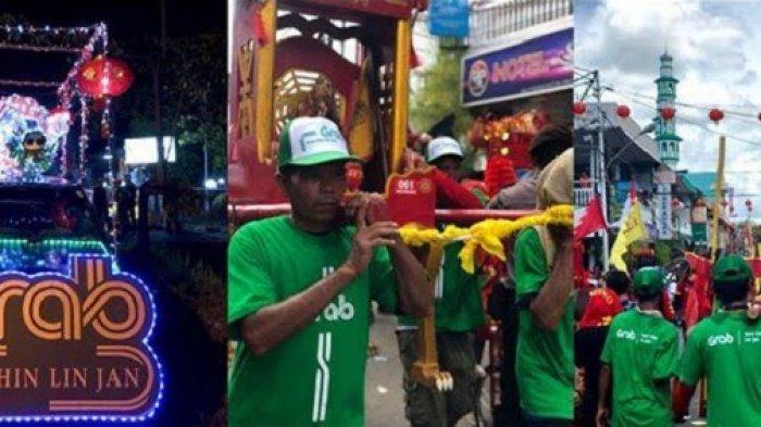 Grab Dukung Festival Cap Go Meh 2019 di Singkawang, Dapatkan Diskon 50% hingga Cashback Rp 15 Ribu